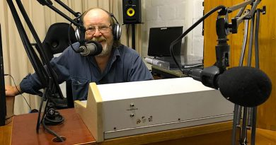 Radio 2bbb, community radio, volunteer presenter, Leo Bradney George, mid north coast, Bellingen